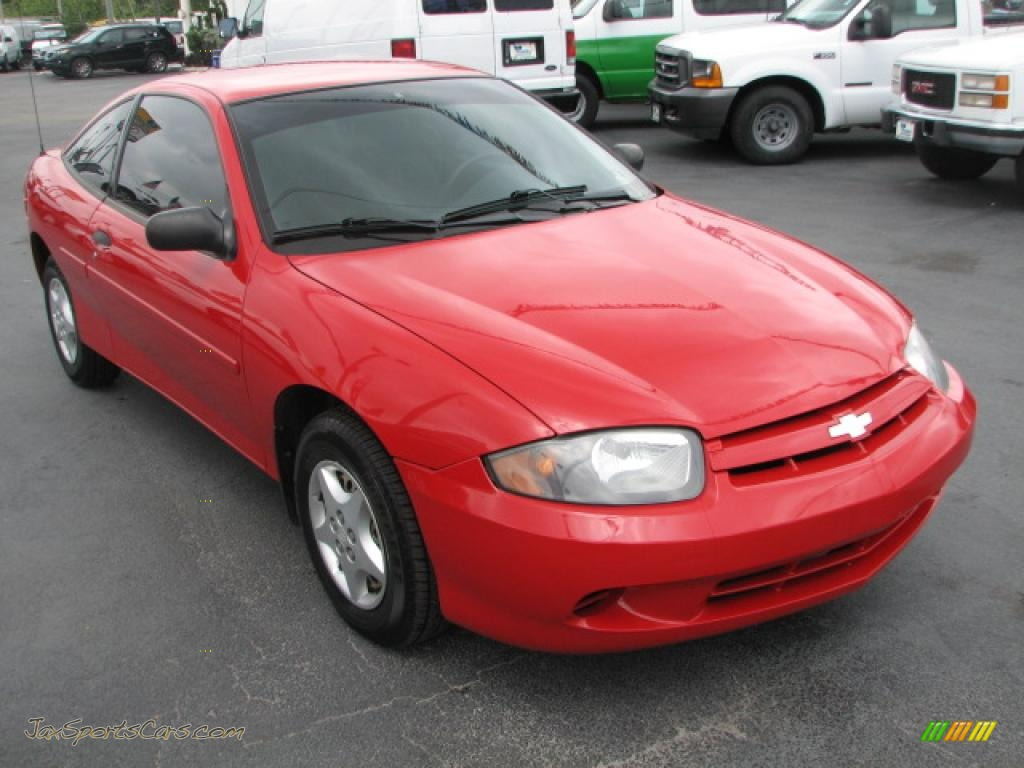 2005 chevrolet cavalier coupe in victory red 158346 jax sports cars cars for sale in florida. Black Bedroom Furniture Sets. Home Design Ideas