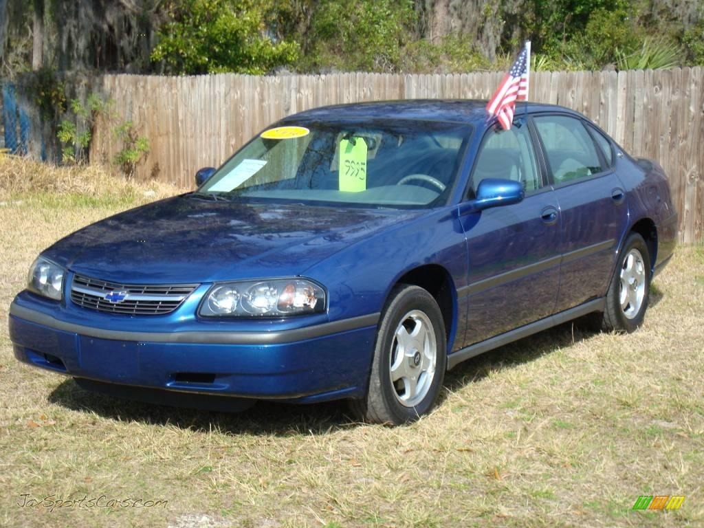 2004 chevrolet impala in superior blue metallic 199593 jax sports cars. Cars Review. Best American Auto & Cars Review
