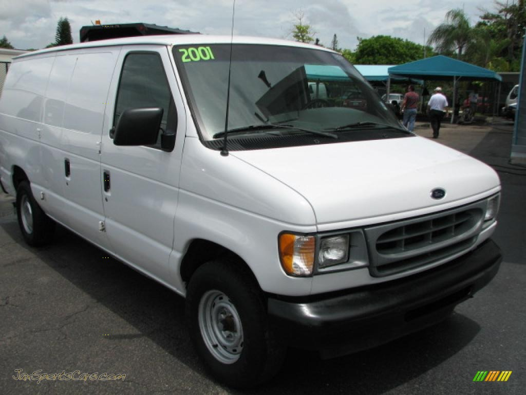 2001 ford e series van e150 commercial in oxford white. Black Bedroom Furniture Sets. Home Design Ideas