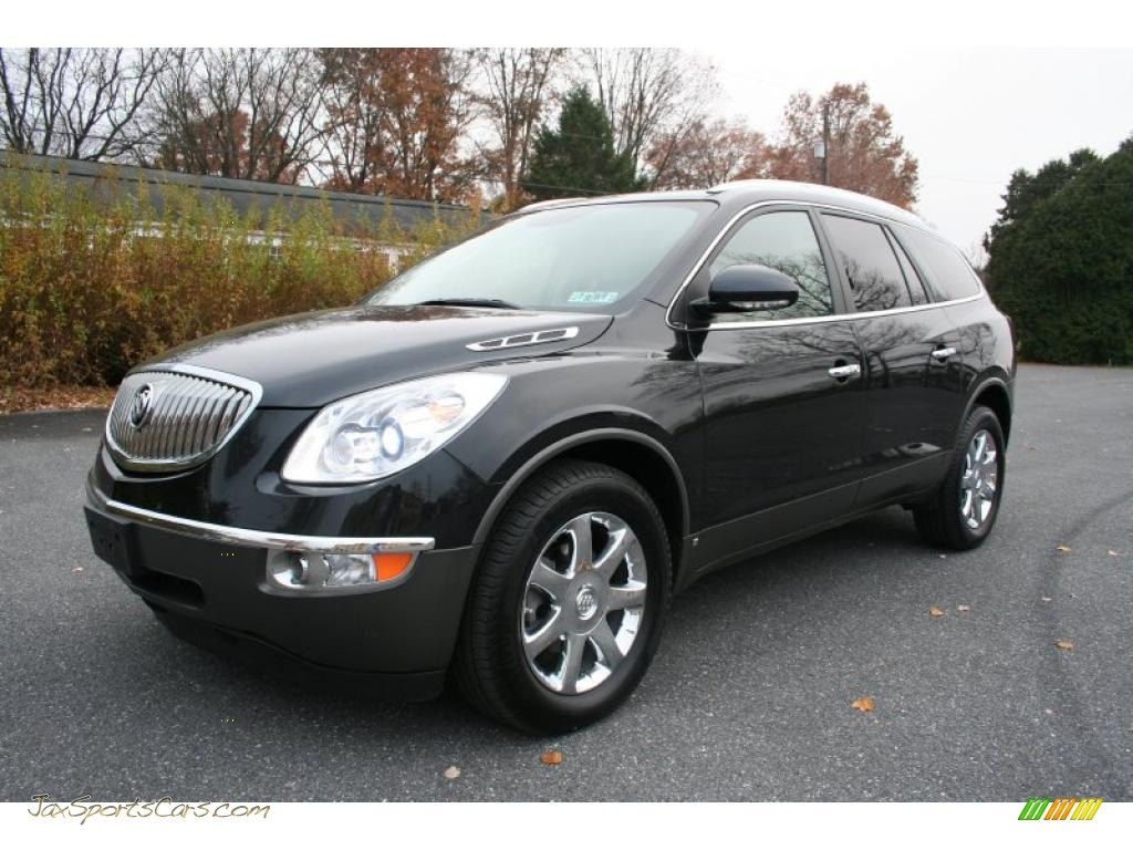 2008 Buick Enclave Cxl Awd In Carbon Black Metallic