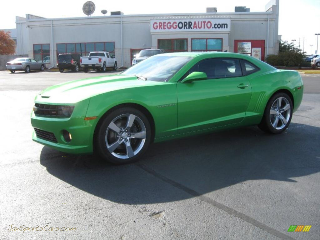 2011 chevrolet camaro ss rs coupe in synergy green metallic 129498. Cars Review. Best American Auto & Cars Review