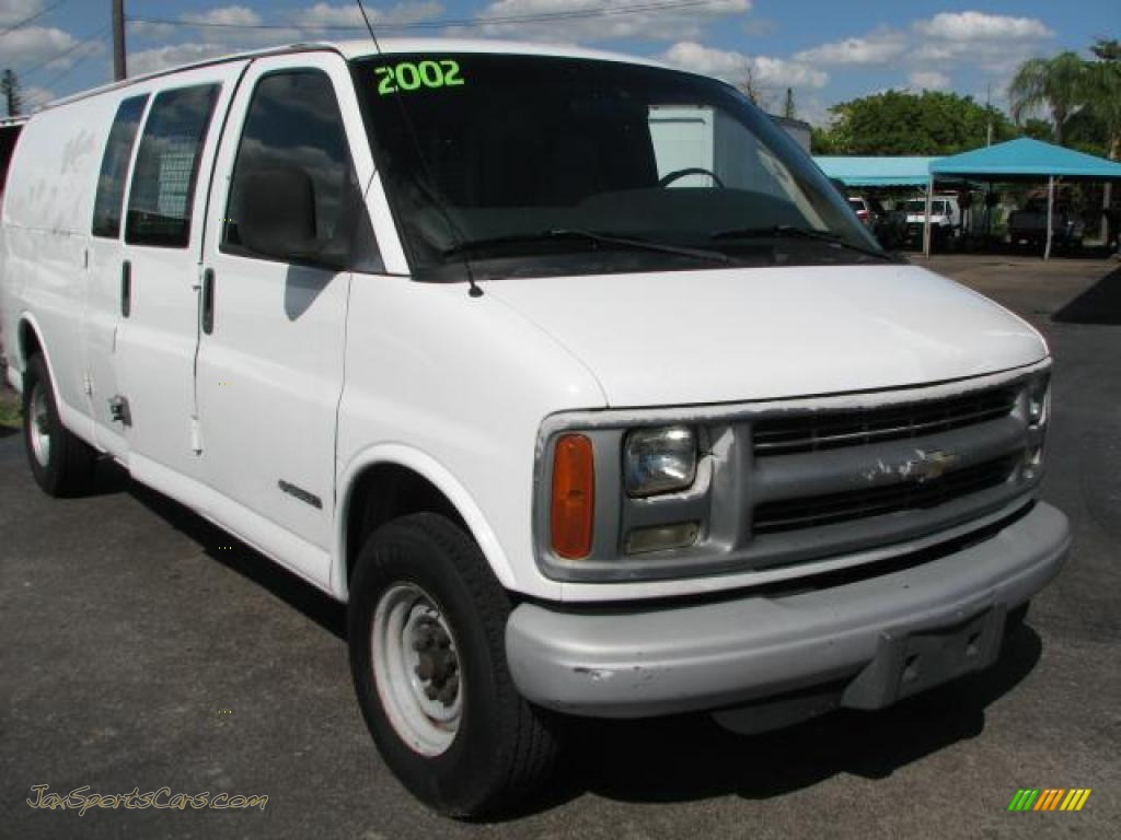 Summit white dark pewter chevrolet express 3500 extended commercial van