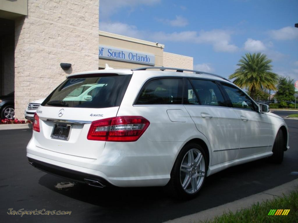 2011 mercedes benz e 350 4matic wagon in arctic white for Mercedes benz millenia