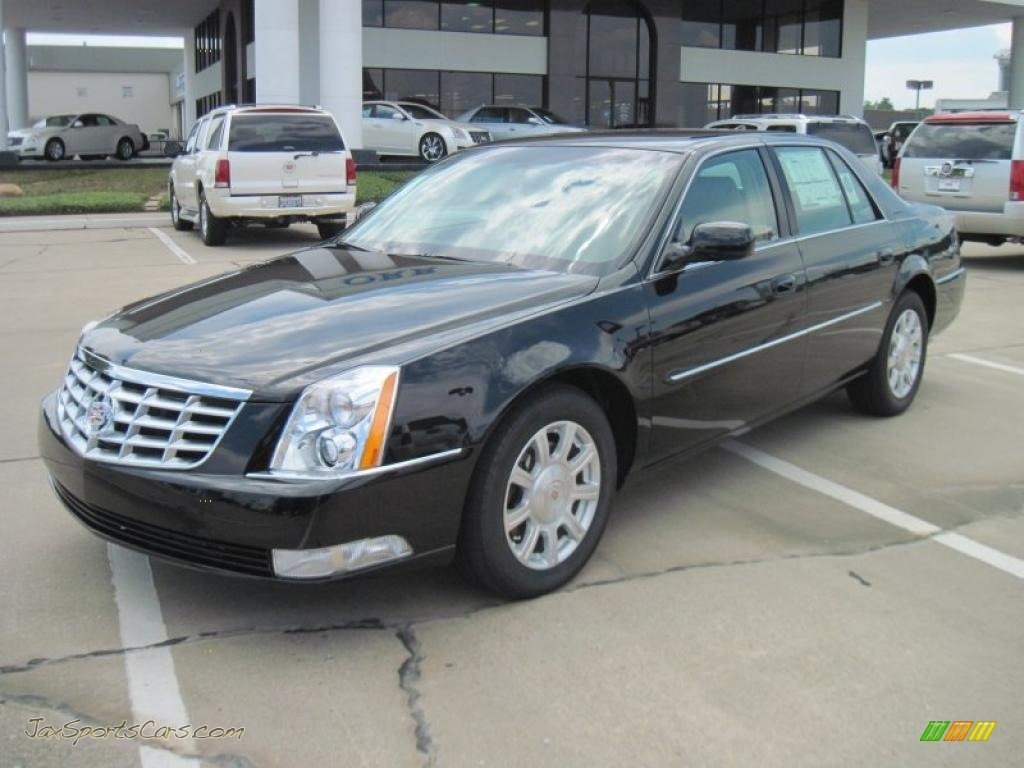 2011 cadillac dts in black raven 123905 jax sports cars cars for sale in florida. Black Bedroom Furniture Sets. Home Design Ideas