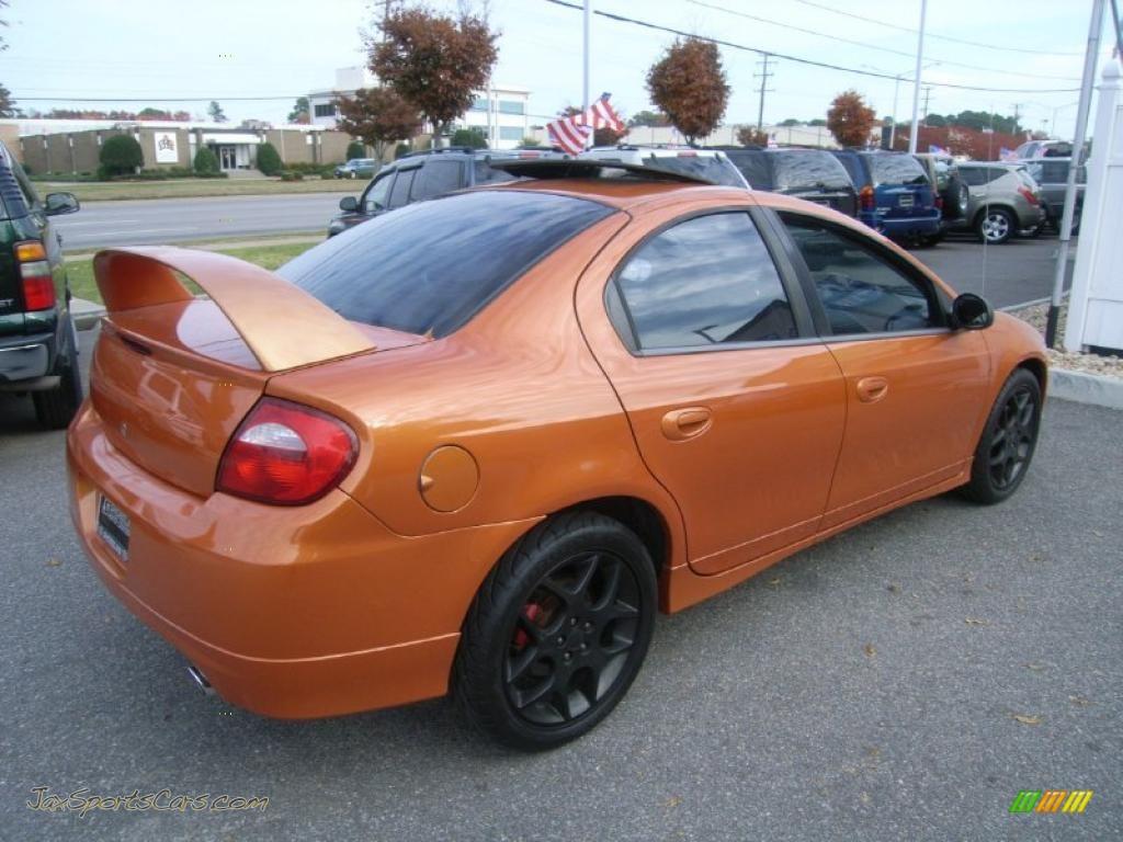 2005 Dodge Neon Srt 4 In Orange Blast Pearlcoat Photo 5
