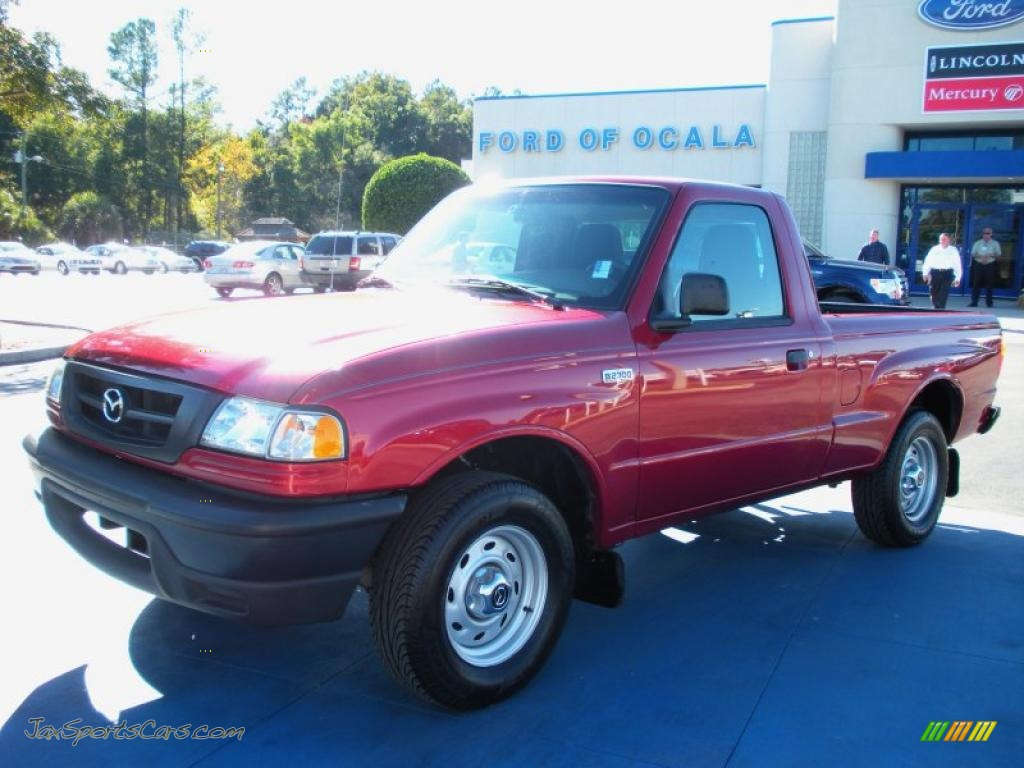 2004 Mazda B Series Truck B2300 Regular Cab In Sunburst