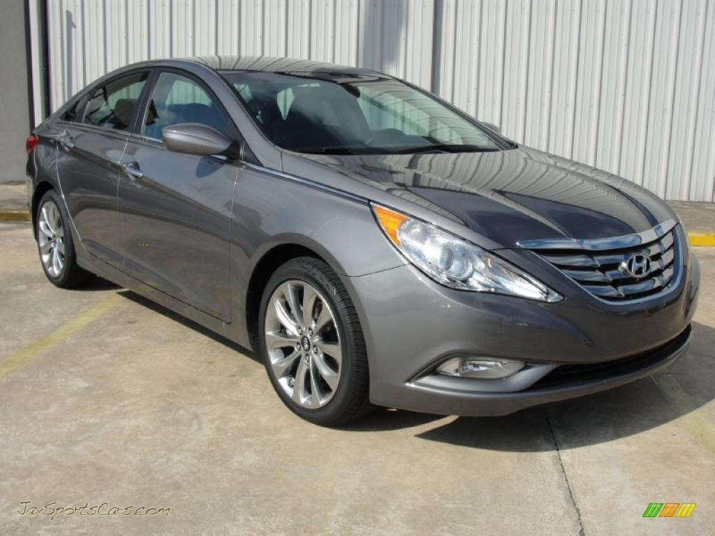 2011 Hyundai Sonata Se In Harbor Gray Metallic 188692