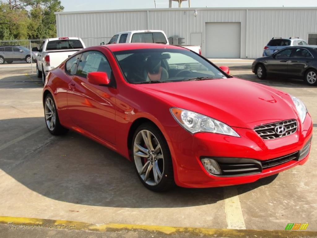 2011 Hyundai Genesis Coupe 3 8 R Spec In Tsukuba Red