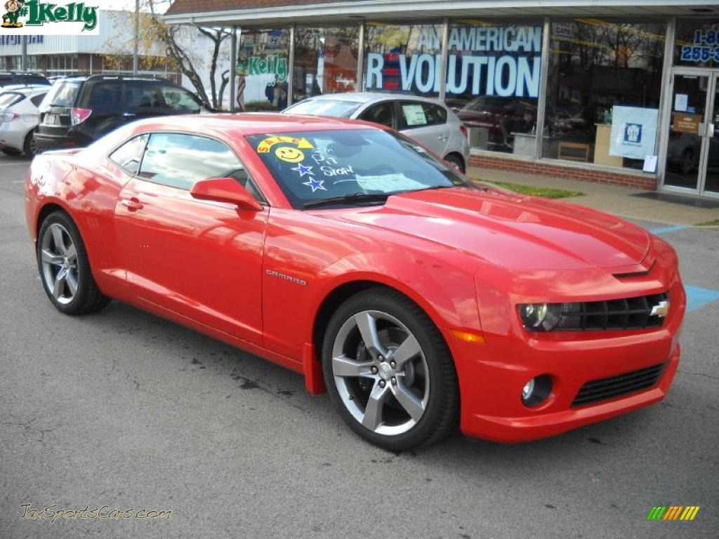 2011 chevrolet camaro ss rs coupe in inferno orange for Orange motor co inc