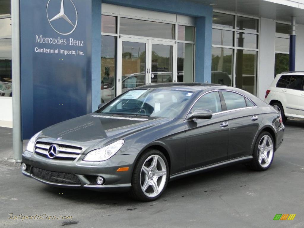2010 CLS 550 - Flint Grey Metallic / Ash photo #1