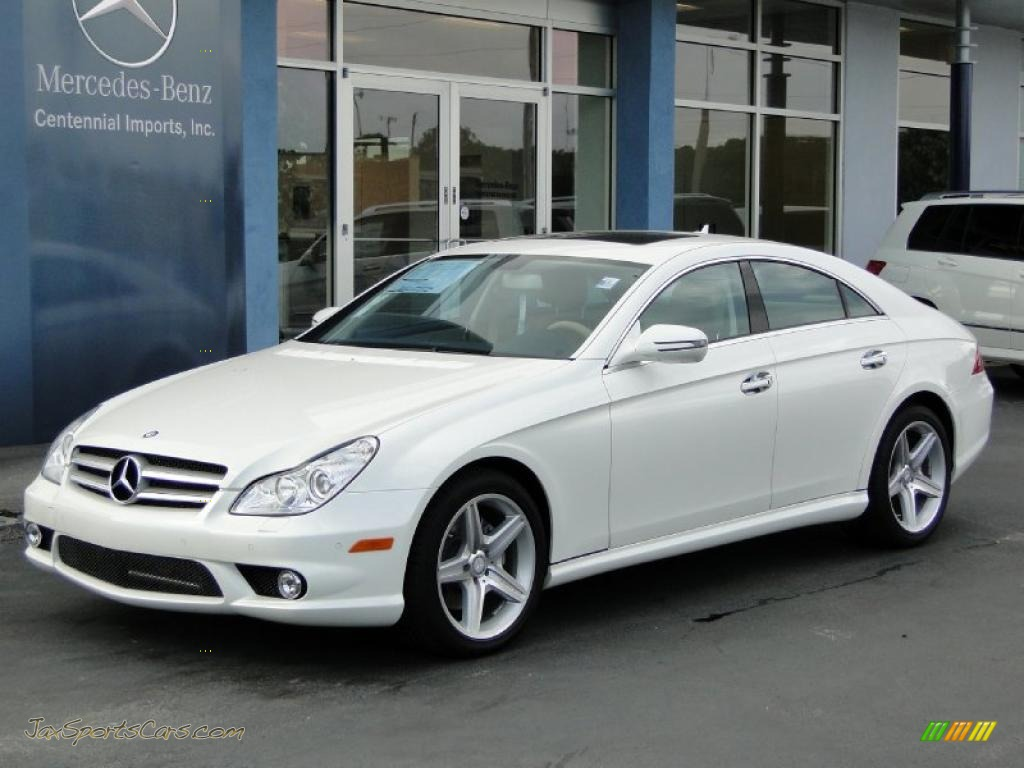2011 mercedes benz cls 550 in diamond white metallic