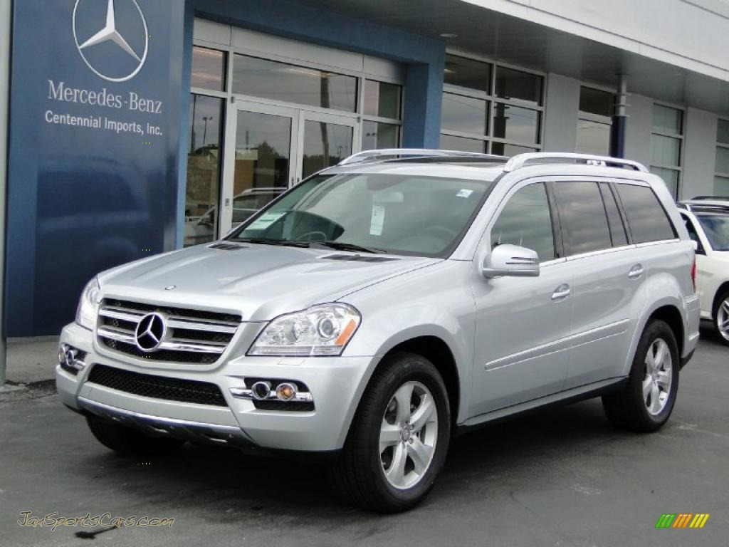 2011 mercedes benz gl 450 4matic in iridium silver metallic 645213 jax sports cars cars. Black Bedroom Furniture Sets. Home Design Ideas