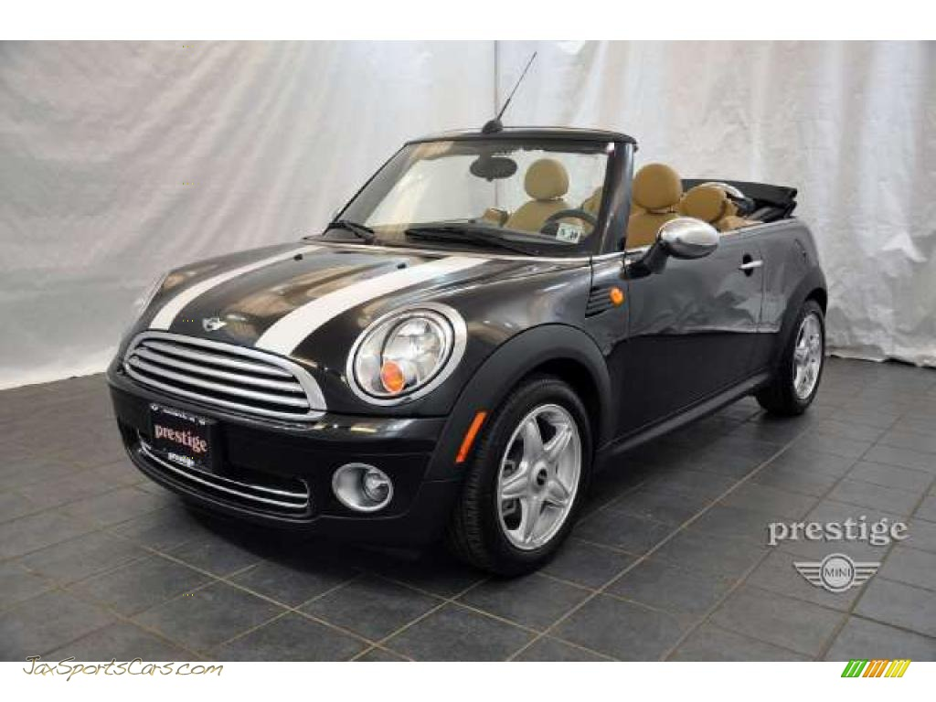 2010 Mini Cooper Convertible In Midnight Black Metallic