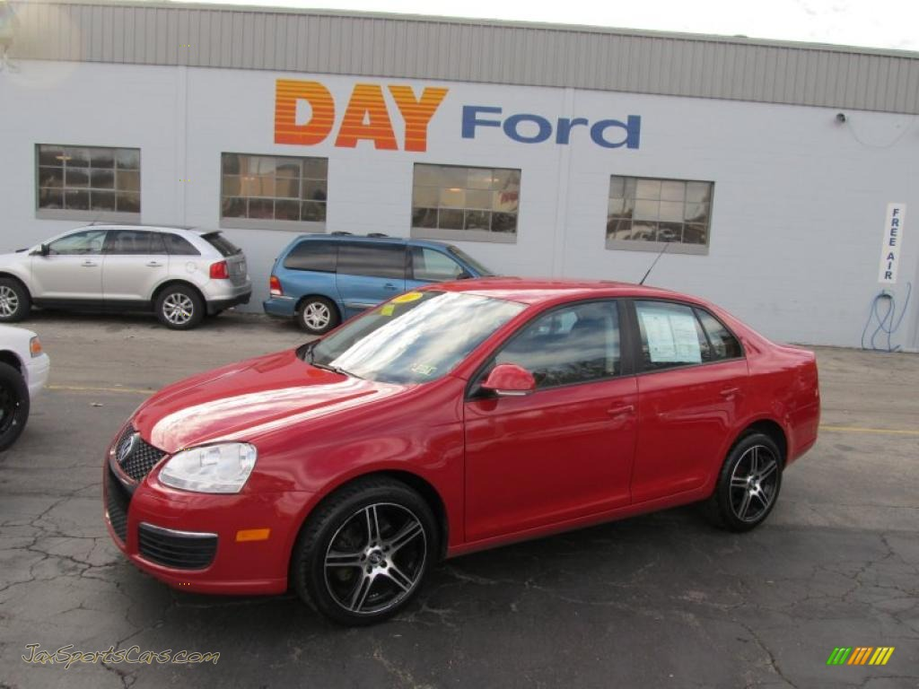 Day Vw Monroeville >> 2007 Volkswagen Jetta 2.5 Sedan in Salsa Red - 152843 | Jax Sports Cars - Cars for sale in FLorida