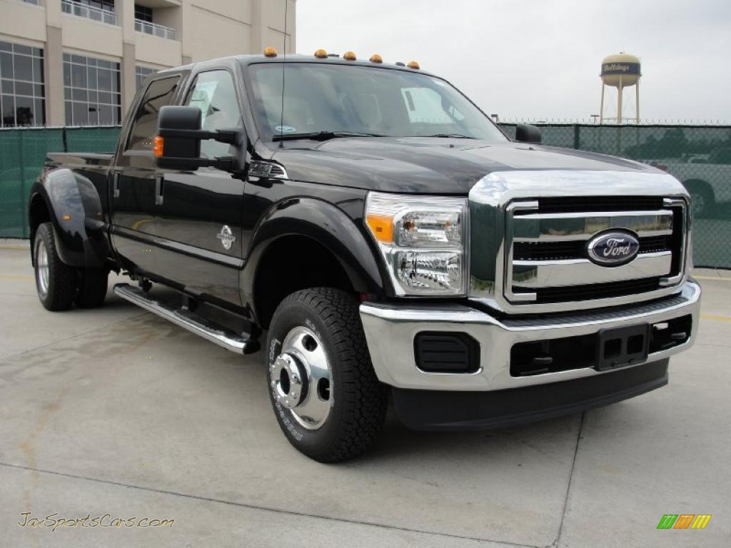 2011 ford f350 super duty xlt crew cab 4x4 dually in tuxedo black photo 7 b39141 jax sports. Black Bedroom Furniture Sets. Home Design Ideas