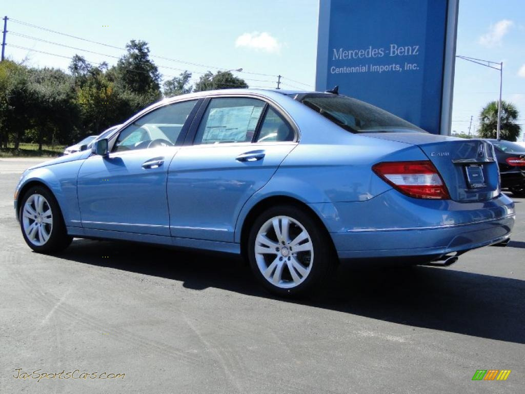 2011 mercedes benz c 300 luxury in quartz blue metallic for Mercedes benz cl 300 for sale