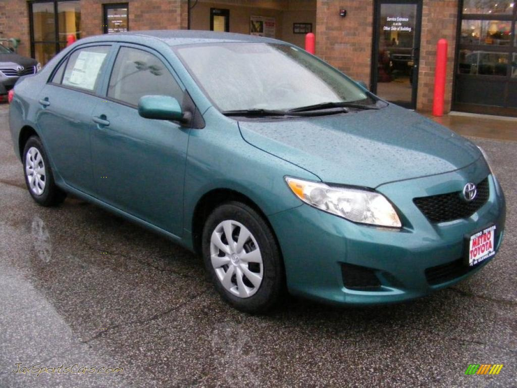 2010 Toyota Corolla Le In Capri Sea Metallic 500444
