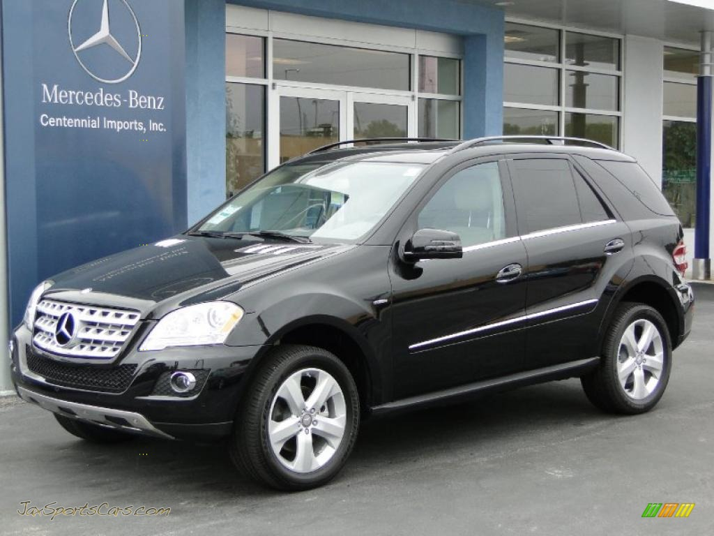 2011 mercedes benz ml 350 bluetec 4matic in obsidian black for Mercedes benz ml 350 2011