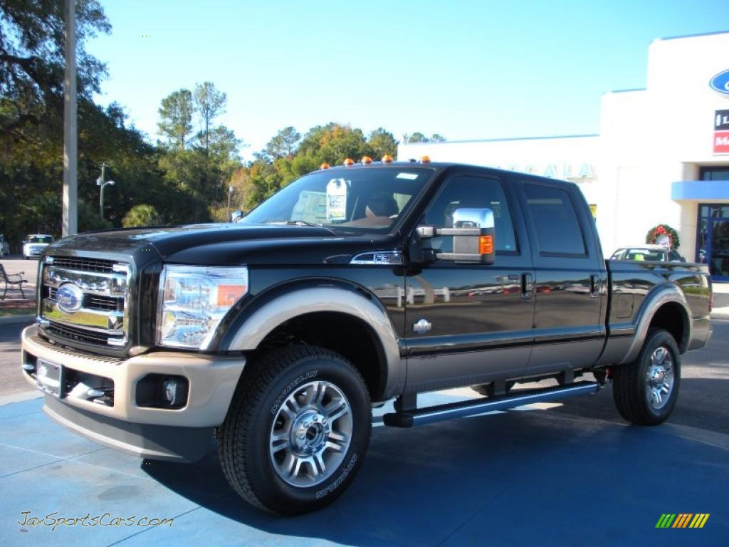 2011 Ford F350 Super Duty King Ranch Crew Cab 4x4 In