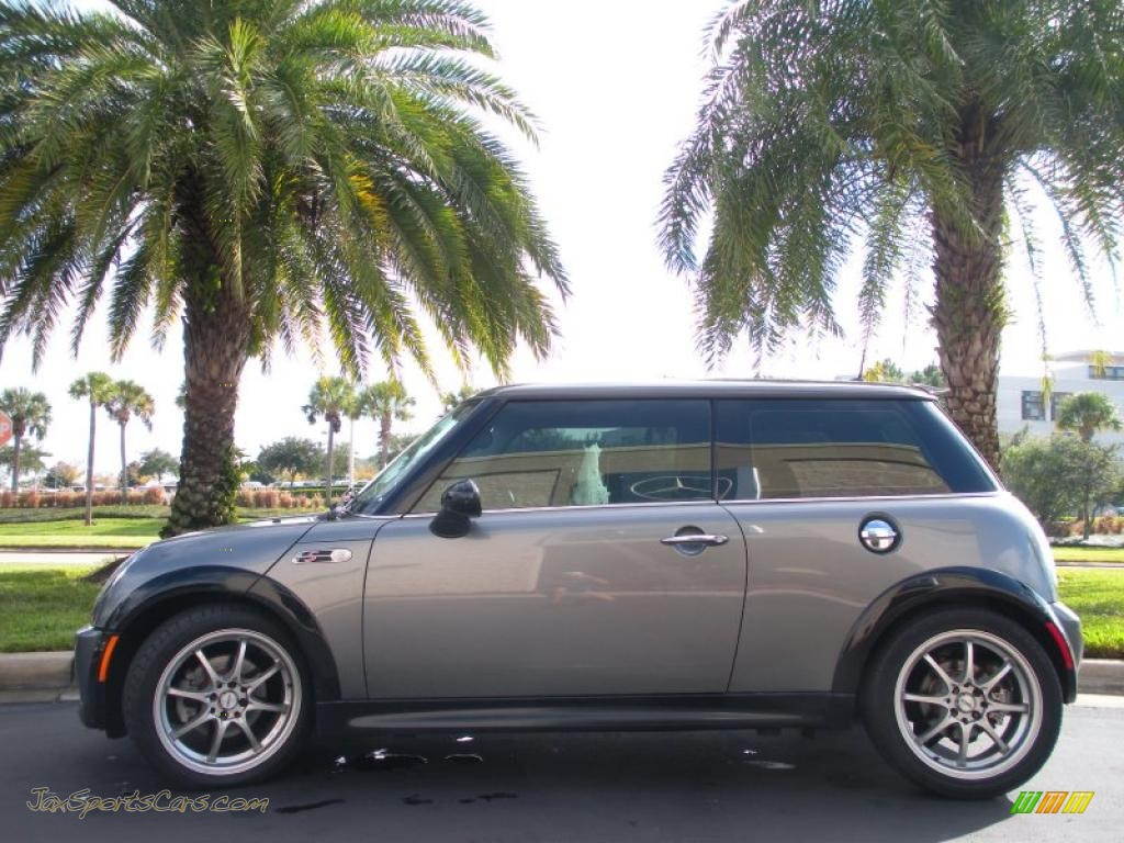 2005 mini cooper s hardtop in dark silver metallic d91439 jax sports cars cars for sale in. Black Bedroom Furniture Sets. Home Design Ideas