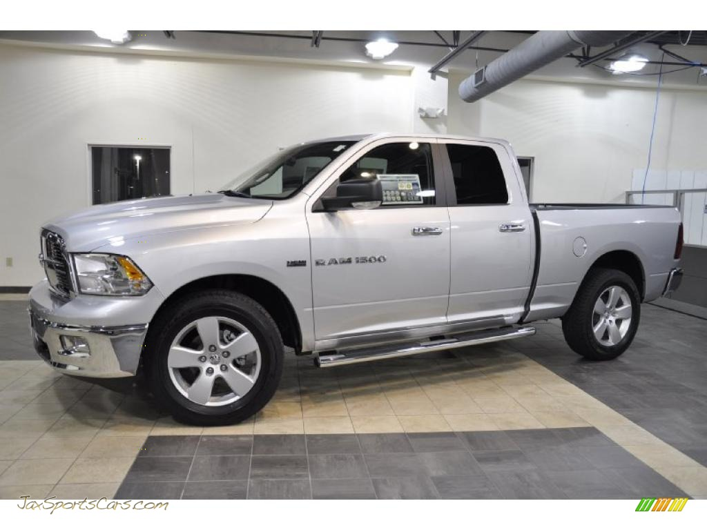2011 dodge ram 1500 big horn quad cab in bright silver metallic 578011 jax sports cars. Black Bedroom Furniture Sets. Home Design Ideas