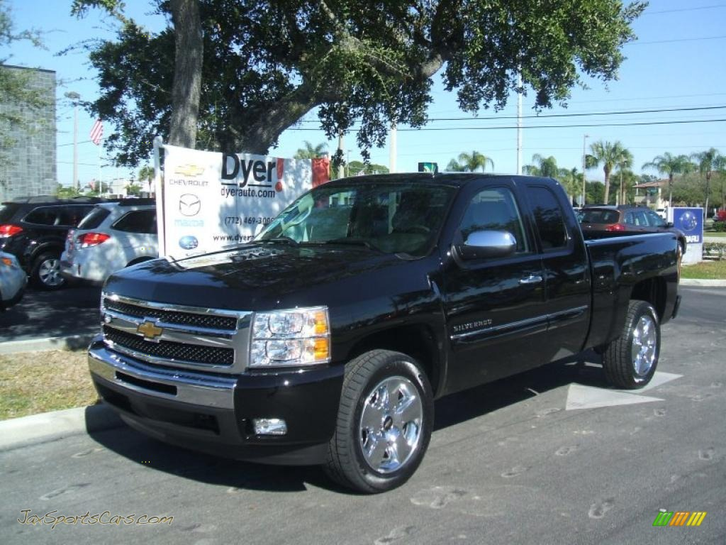 2011 chevrolet silverado 1500 lt extended cab in black 225014 jax sports cars cars for. Black Bedroom Furniture Sets. Home Design Ideas