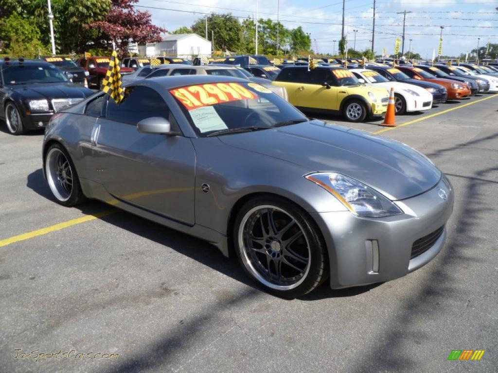 2003 nissan 350z touring coupe in silverstone metallic 016352 jax sports cars cars for. Black Bedroom Furniture Sets. Home Design Ideas