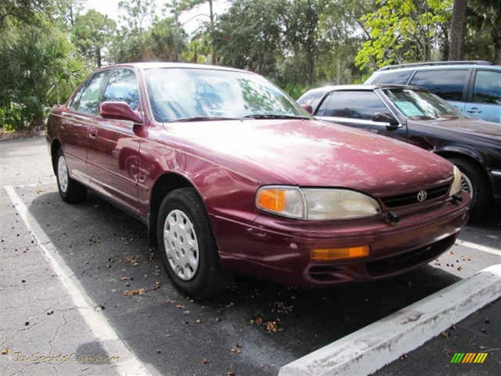 Acura Fort Myers >> 1996 Toyota Camry LE Sedan in Ruby Red Pearl photo #2 - 363586 | Jax Sports Cars - Cars for sale ...