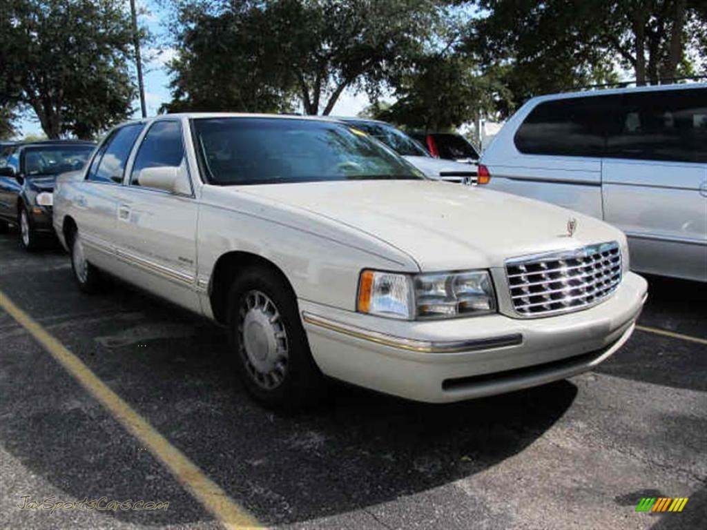 1997 cadillac deville d 39 elegance in white 295769 jax sports cars cars for sale in florida. Black Bedroom Furniture Sets. Home Design Ideas