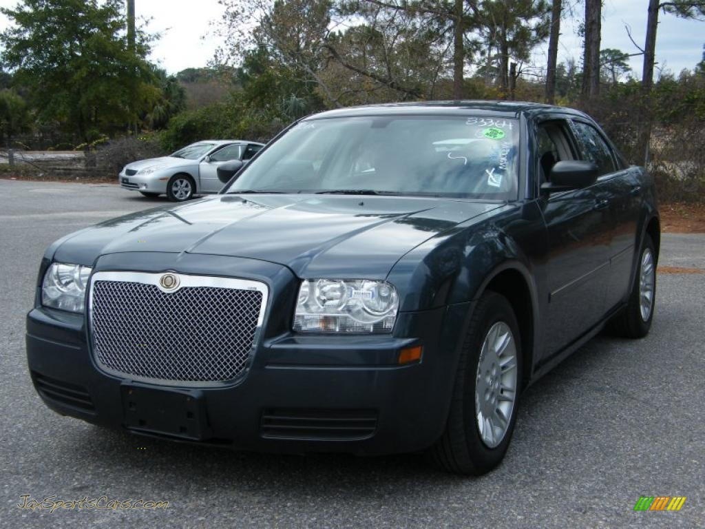 2007 chrysler 300 in steel blue metallic 829490 jax sports cars cars for sale in florida. Black Bedroom Furniture Sets. Home Design Ideas