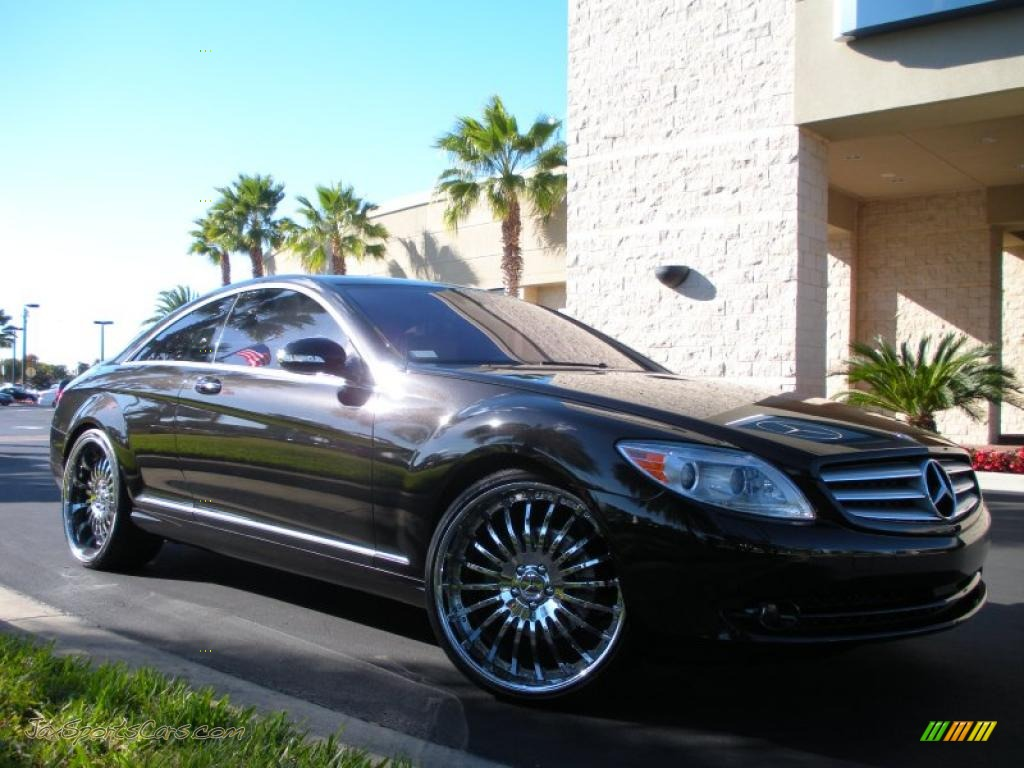 2007 mercedes benz cl 550 in obsidian black metallic photo for 2007 mercedes benz cl 550
