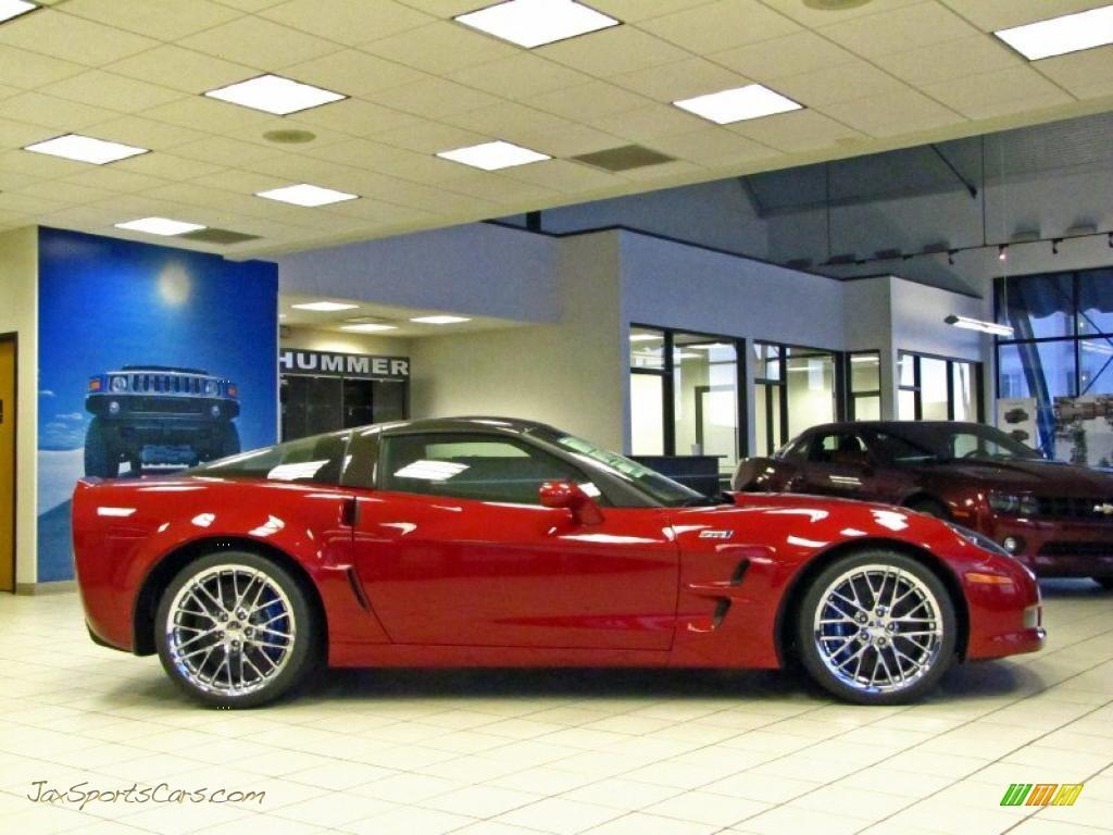 2011 Chevrolet Corvette Zr1 In Crystal Red Tintcoat