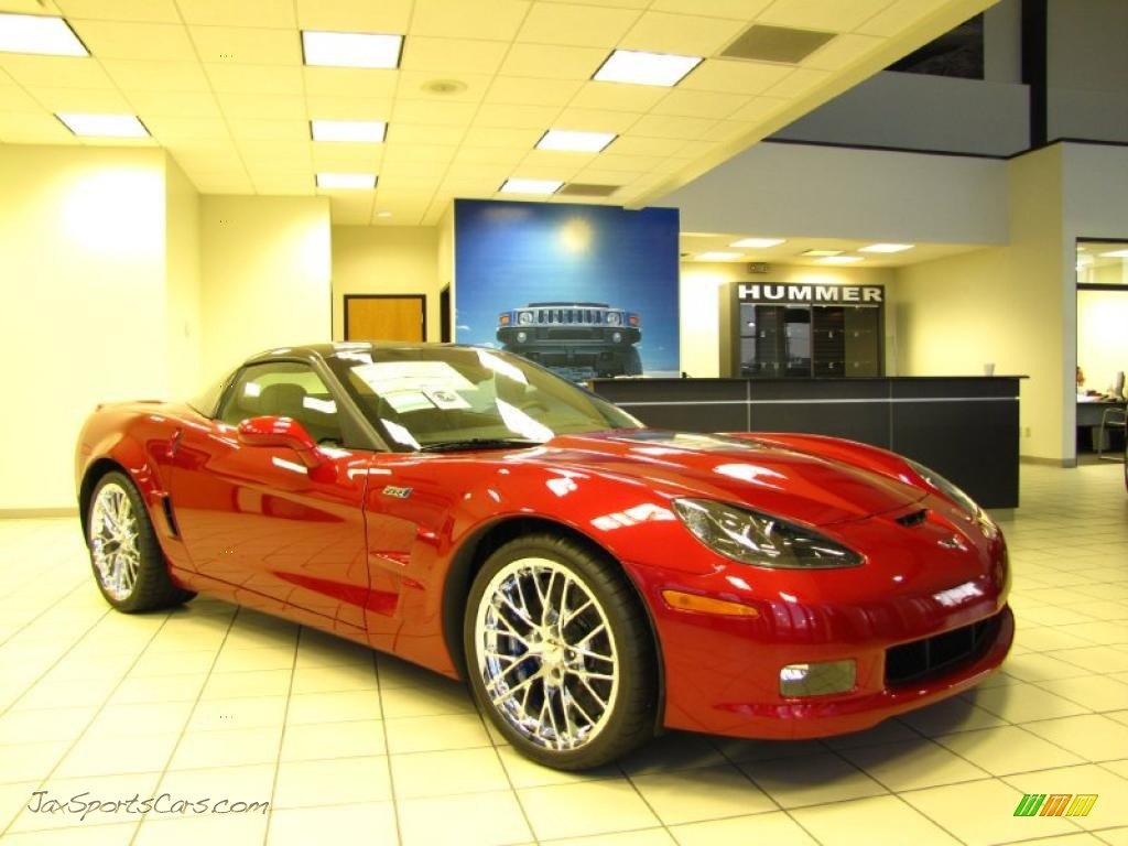 2011 chevrolet corvette zr1 in crystal red tintcoat metallic photo 3 800594 jax sports cars. Black Bedroom Furniture Sets. Home Design Ideas
