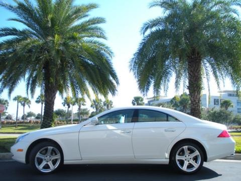 Arctic White Mercedes-Benz CLS 550 for sale in Florida