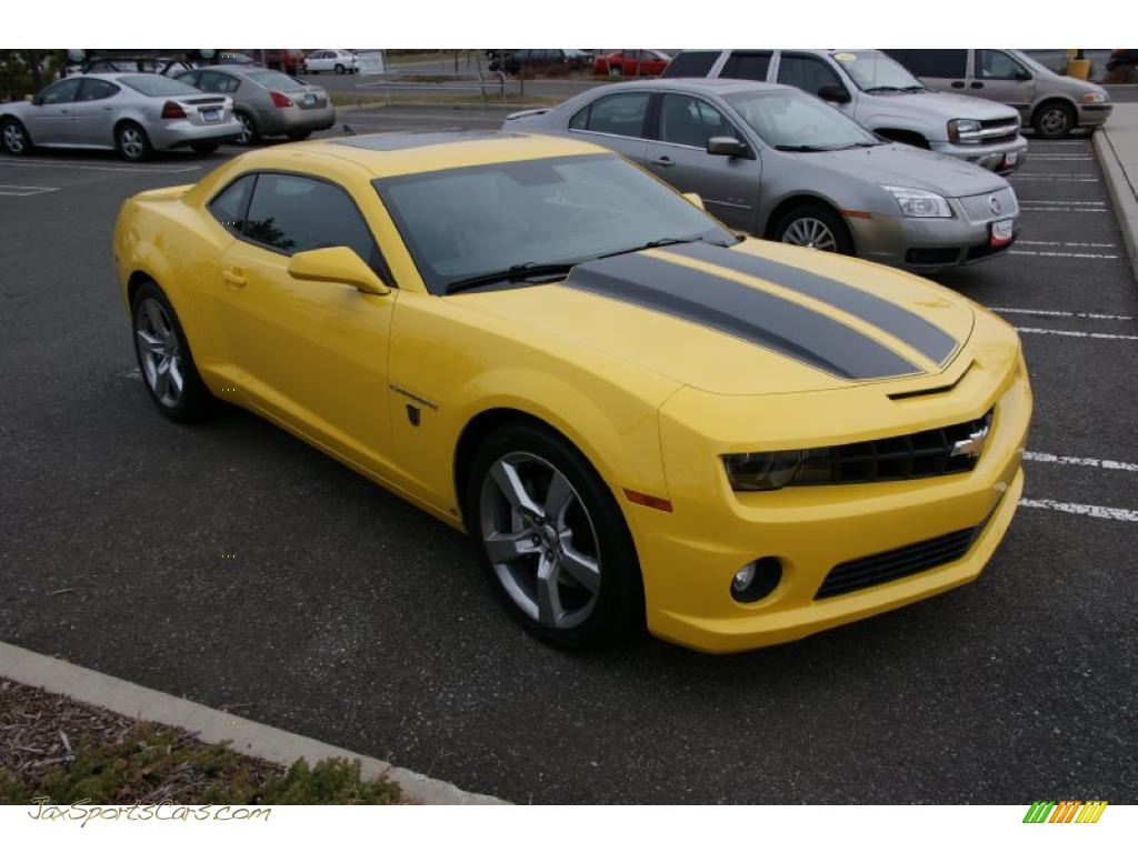 2010 chevrolet camaro ss coupe transformers special edition in rally yellow photo 3 141463. Black Bedroom Furniture Sets. Home Design Ideas