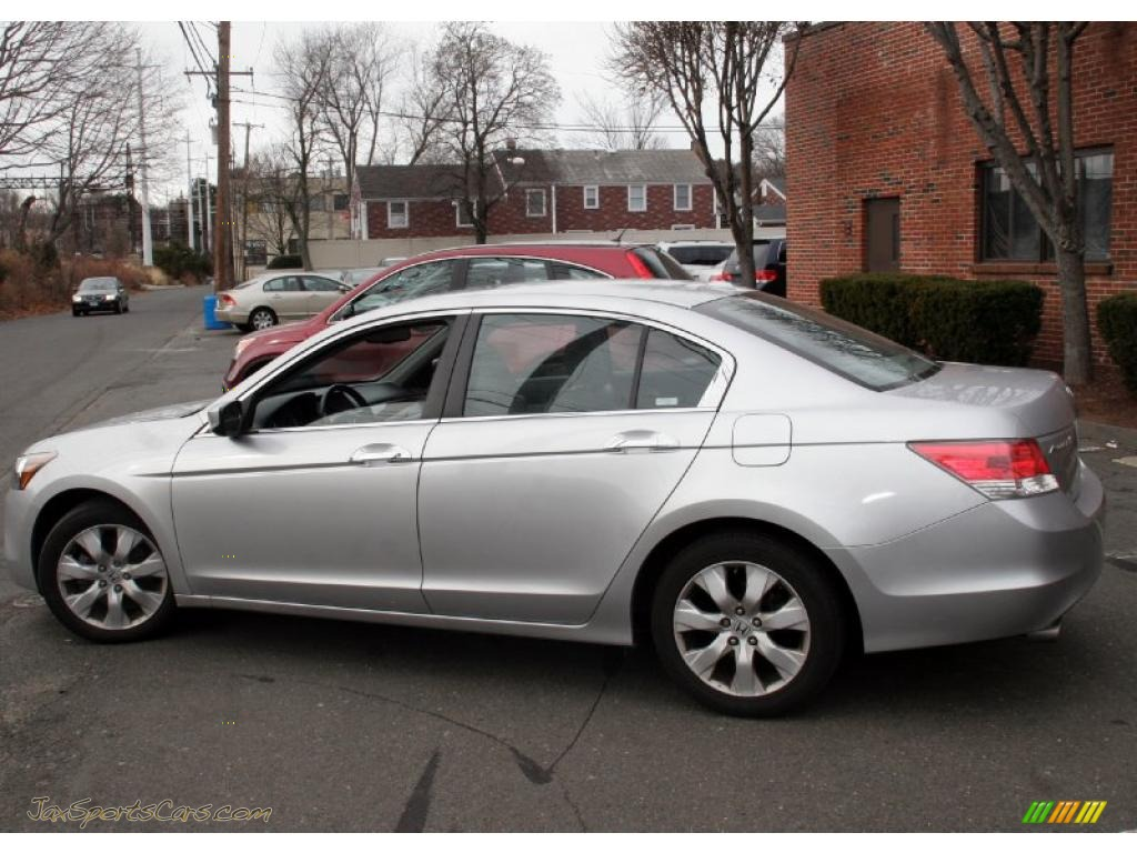 2008 Honda Accord Ex L V6 Sedan In Alabaster Silver