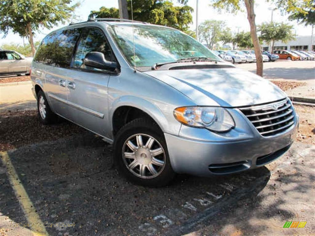 2006 town country touring butane blue pearl medium slate gray. Cars Review. Best American Auto & Cars Review