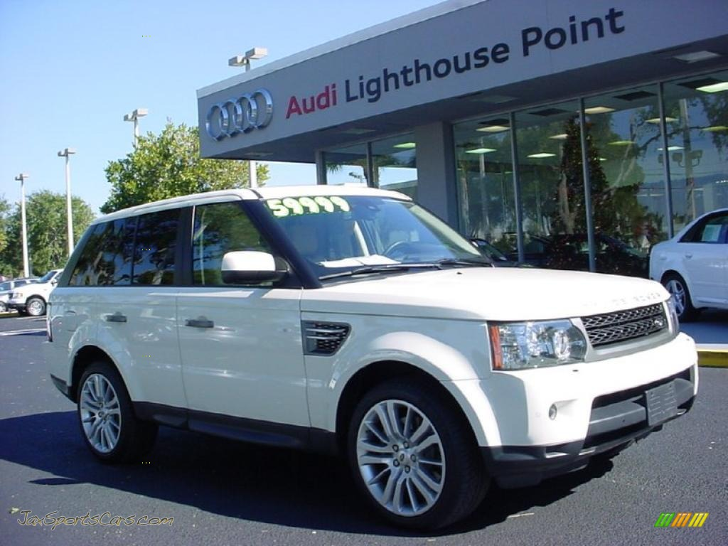 2010 Land Rover Range Rover Sport HSE in Alaska White - 227179 | Jax