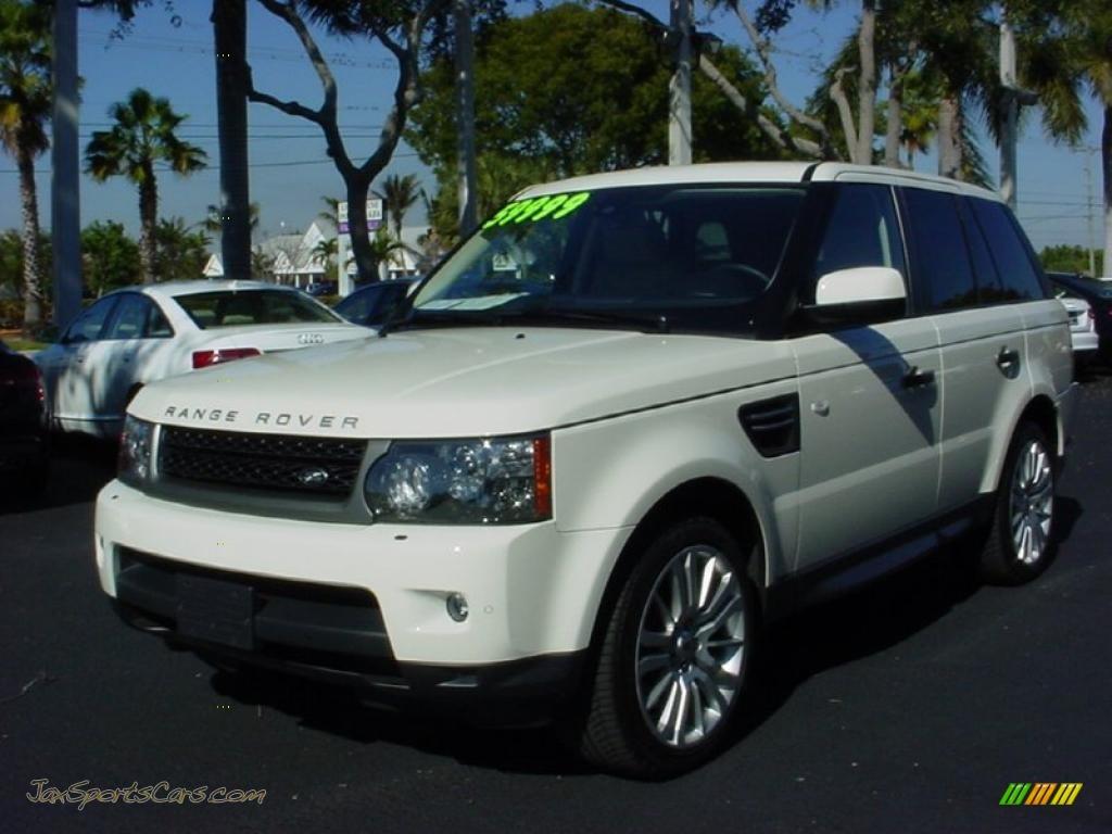 2010 land rover range rover sport hse in alaska white photo 11 227179 jax sports cars. Black Bedroom Furniture Sets. Home Design Ideas