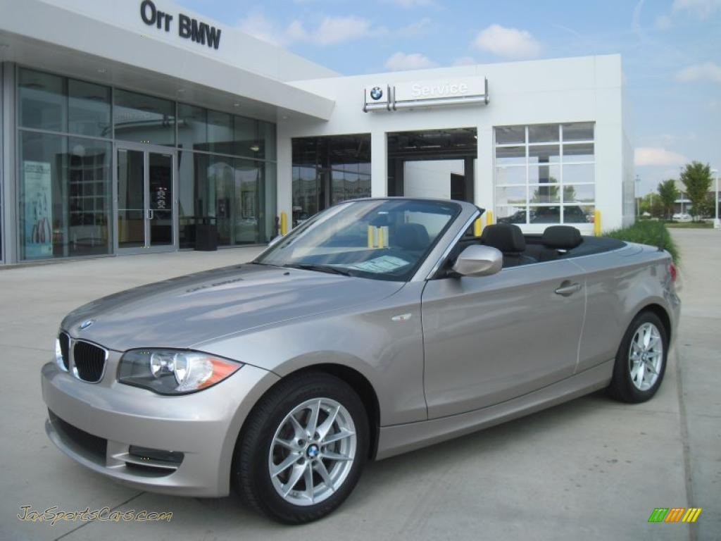 BMW Series I Convertible In Cashmere Silver Metallic - 2011 bmw 128i convertible