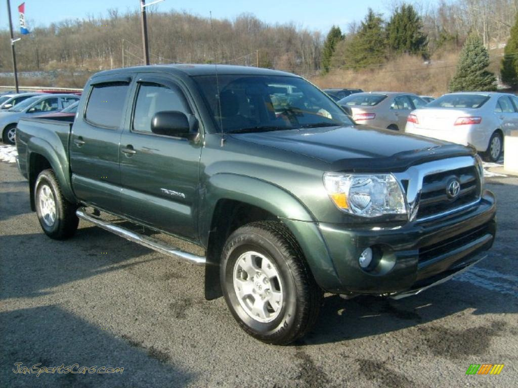 2009 Toyota Tacoma V6 Sr5 Double Cab 4x4 In Timberland