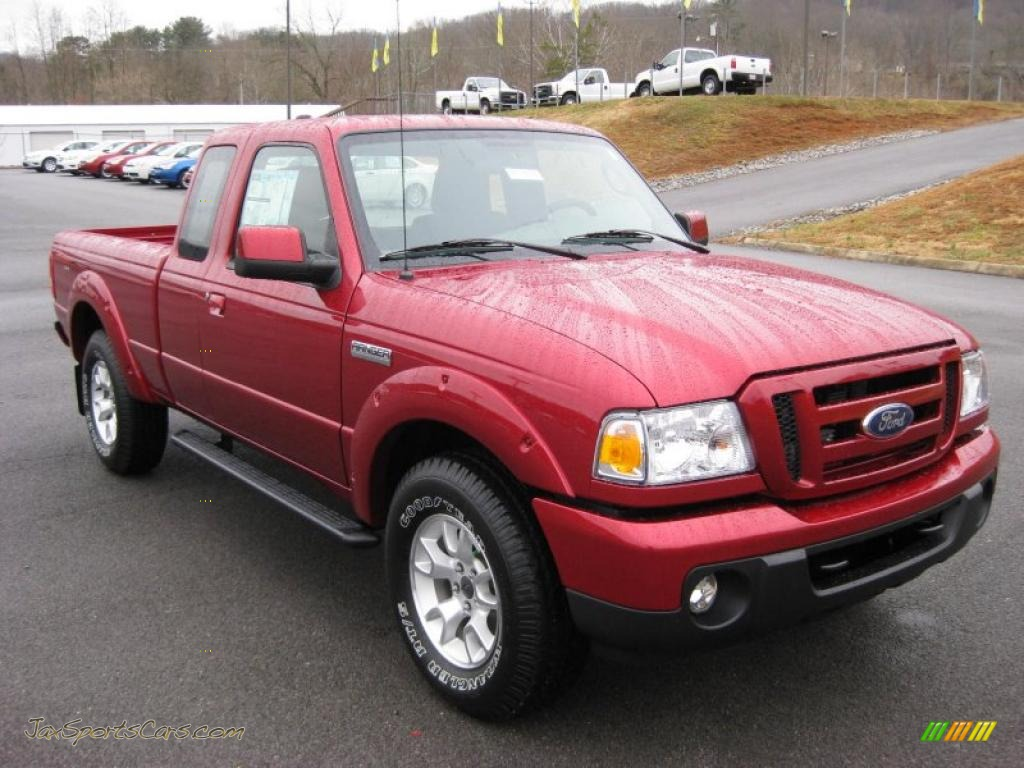 2011 ford ranger sport supercab 4x4 in redfire metallic photo 4 a24486 jax sports cars. Black Bedroom Furniture Sets. Home Design Ideas