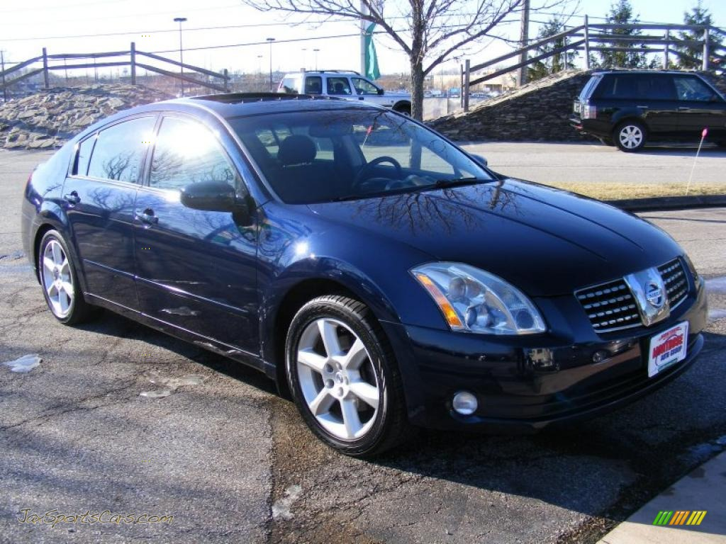 2005 Nissan Maxima 3 5 Se In Majestic Blue Metallic Photo 9 871133 Jax Sports Cars Cars