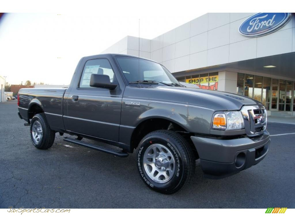 2011 ford ranger xlt regular cab in dark shadow grey. Black Bedroom Furniture Sets. Home Design Ideas