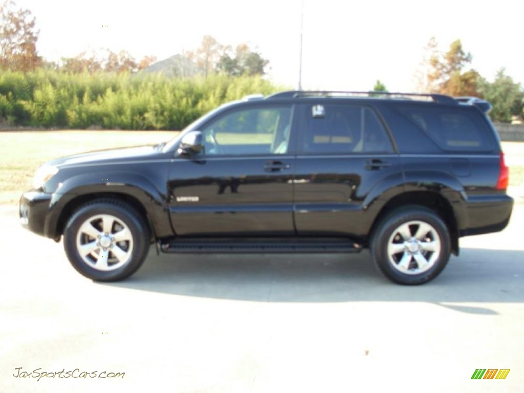 2007 toyota 4runner limited in black 079769 jax sports. Black Bedroom Furniture Sets. Home Design Ideas