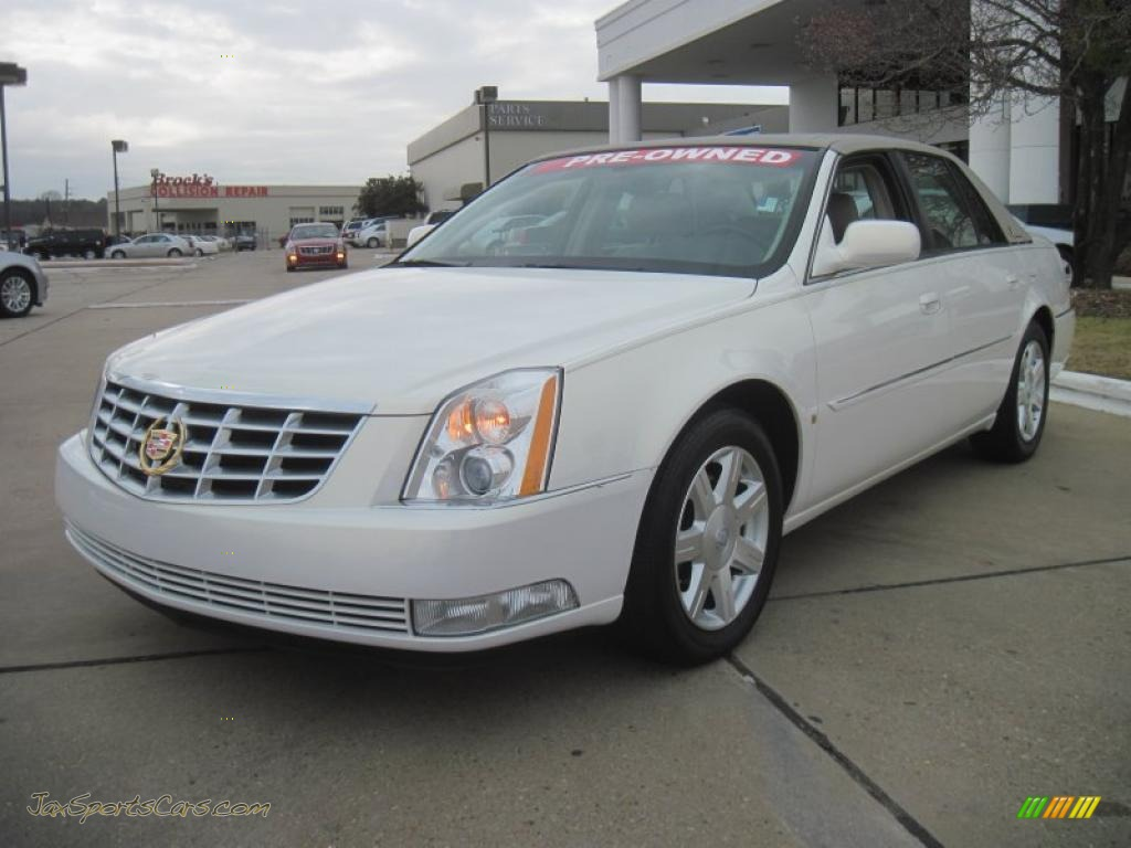 2007 Cadillac Dts Sedan In White Lightning 180217 Jax