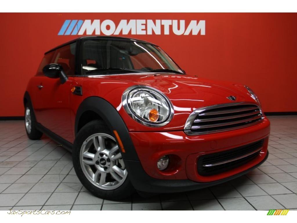 2011 Mini Cooper Hardtop In Chili Red 095057 Jax