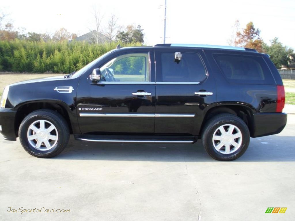 2007 cadillac escalade in black raven 342673 jax sports cars. Cars Review. Best American Auto & Cars Review
