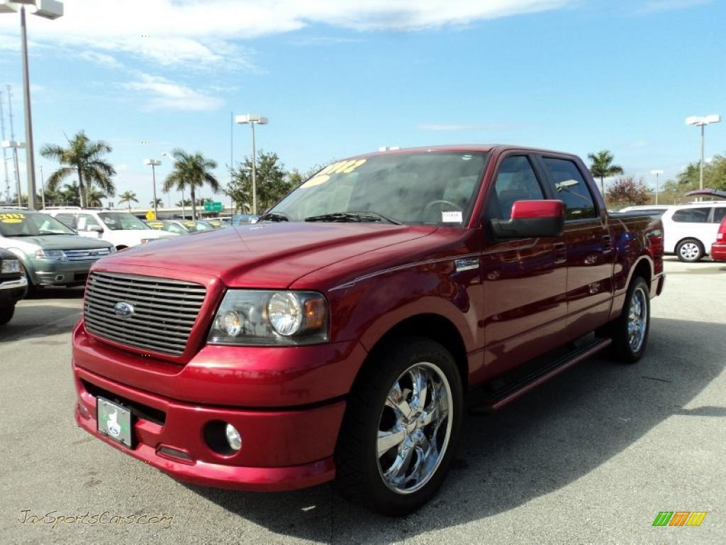 2008 Ford F150 Fx2 Sport Supercrew In Redfire Metallic