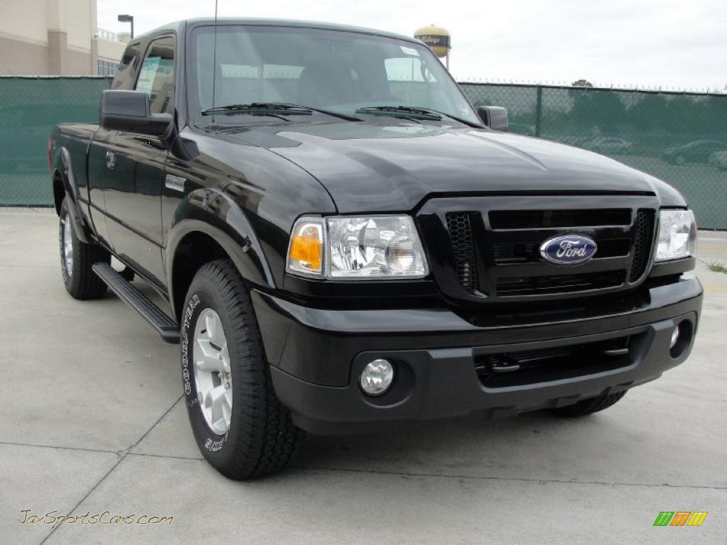 2011 Ford Ranger Sport Supercab 4x4 In Black A22140